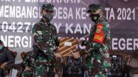 TMMD. Bupati Way Kanan, Raden Adipati secara resmi membuka kegiatan TMMD ke 111 kabupaten Way Kanan, Rabu (16/6).